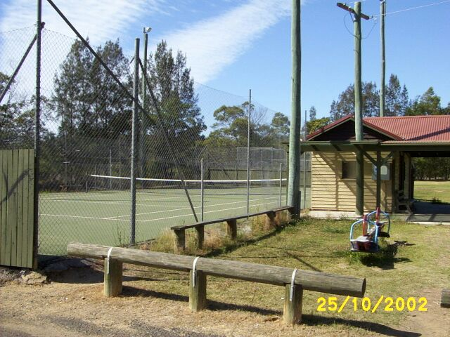Nelligen's Tennis Court and Clubhouse